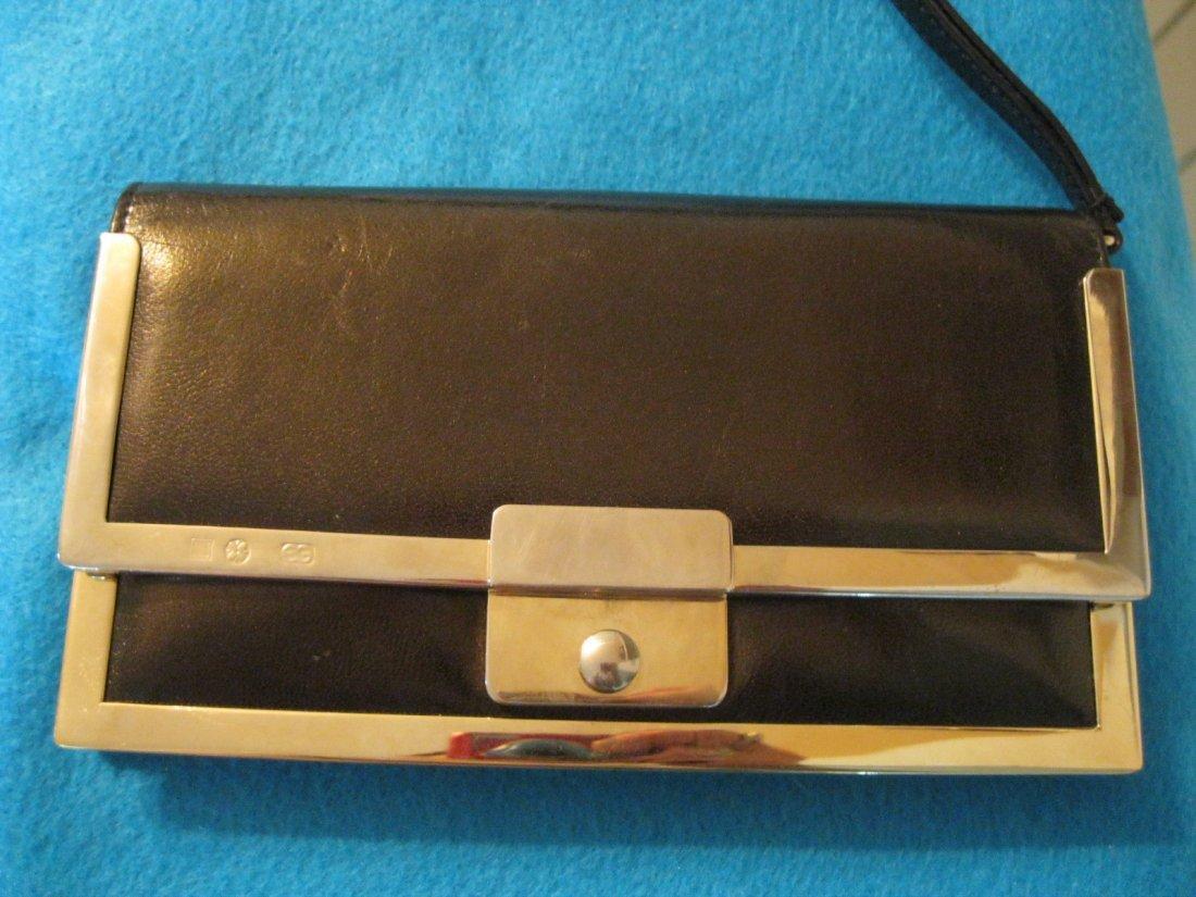 137: Escada Leather Wallet w/ Metal Hardware Trim - 3
