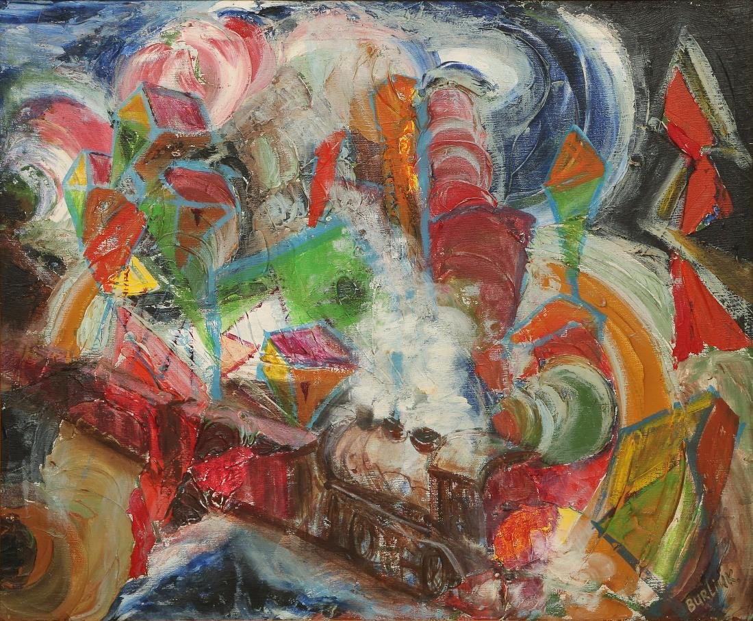 DavidBURLIUK(American-Ukranian,1882-1967)