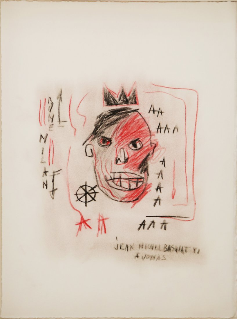 Jean Michel BASQUIAT (American, 1960-1988)