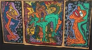 Robert Combas (1957) Untitled ,1987