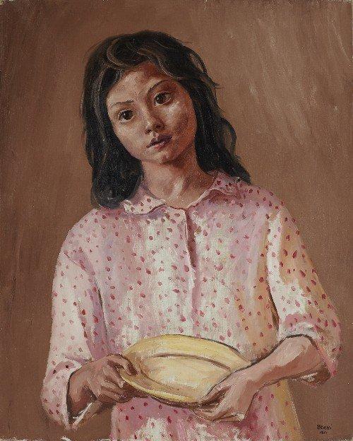 206: Antonio BERNI   La fillette au plat