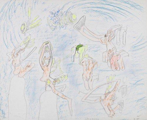 216: Roberto MATTA   Salon a desnudarse