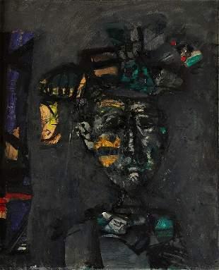 241: Antoni CLAVE Femme a la coiffe