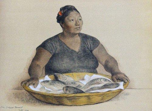 3: Francisco ZUNIGA - Woman with Fish