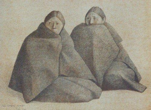 4: Francisco ZUNIGA - Chamulas Azul