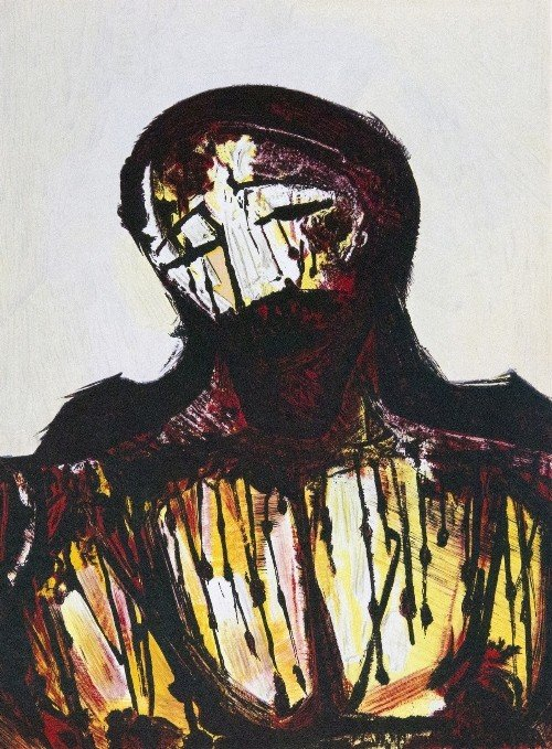 9: David Alfaro SIQUEIROS - Christ Portrait