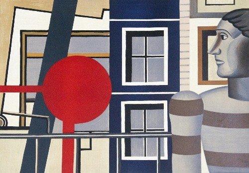 16: Fernand LEGER - L'homme au Chandail