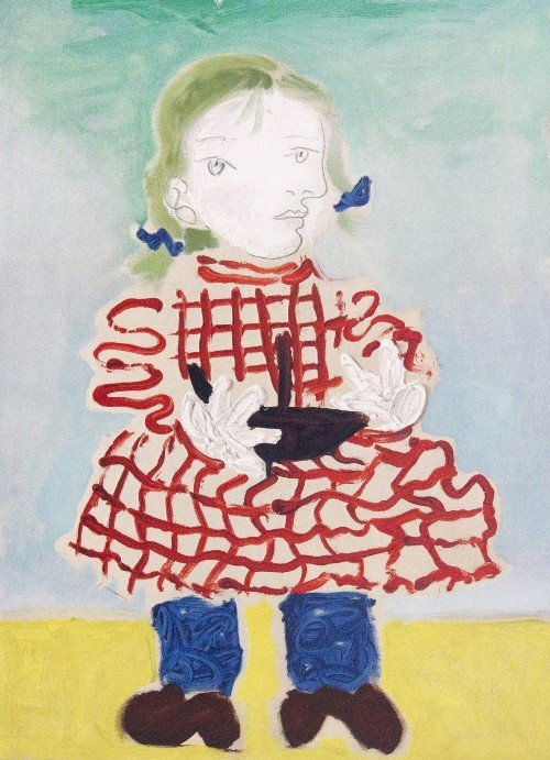 19: Pablo PICASSO - Maya in a Pinafore