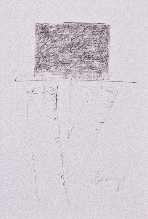 41: Joseph BEUYS - Drawings after Codices Madrid by Leo