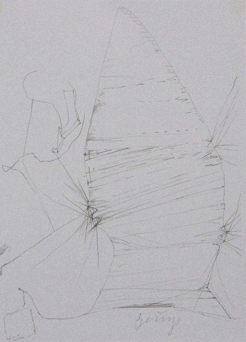 41: Joseph BEUYS - Drawings after Codices Madrid by Leo - 2