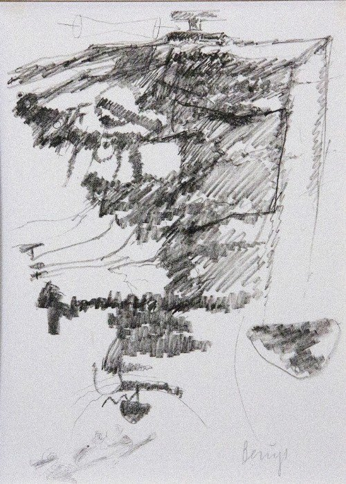 42: Joseph BEUYS - Drawings after Codices Madrid by Leo