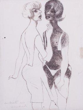 9: Emiliano de CAVALCANTI (1897-1976) , Dos Lorestes, 1