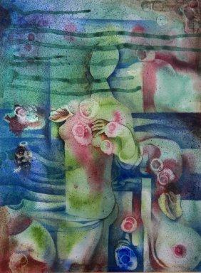 14: Mario CARREÑO (1913-1999) , The birth of Venus, 80