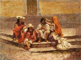18B:  Cesar A. VILLACRES (born in 1880) , Las indias ba