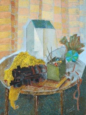22: Delia CUGAT (born in 1935) , Composition à la locom