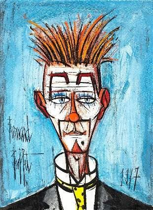 126: Bernard BUFFET (1928-1999) , Le clown aux cheveux