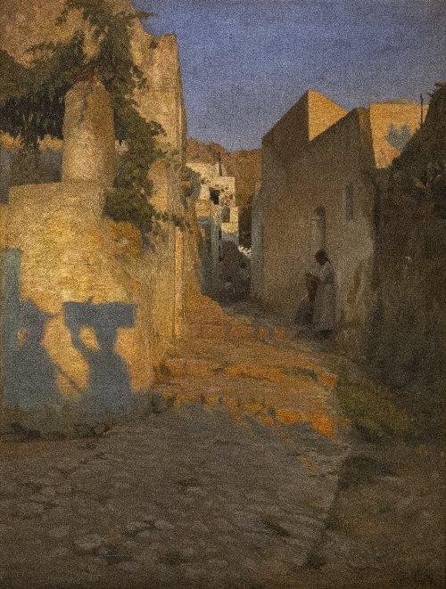 239: Peter Vilhelm ILSTED (1861-1933), Street scene in