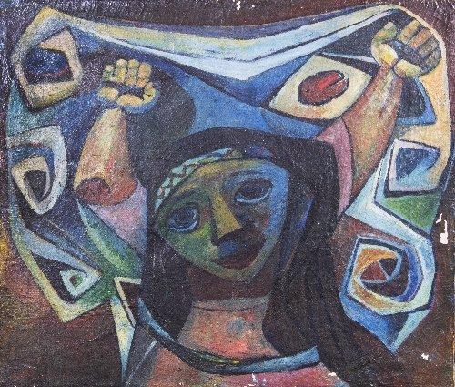 17: Eduardo KINGMAN (1913-1998)  La Mariposa, 1956, Ecu