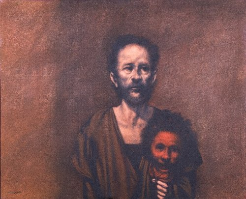 19: Rafael CORONEL (born in 1931) Man with a Mask, Mexi