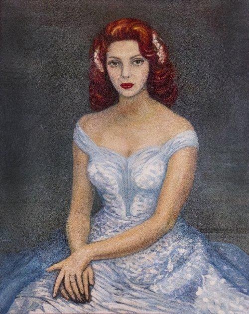 20: David Alfaro SIQUIEROS (1896-1974)  Portrait of a W