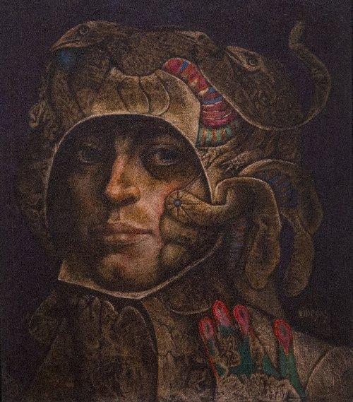 24: Armando VILLEGAS (born in 1926)  Caballero no. 3, 1