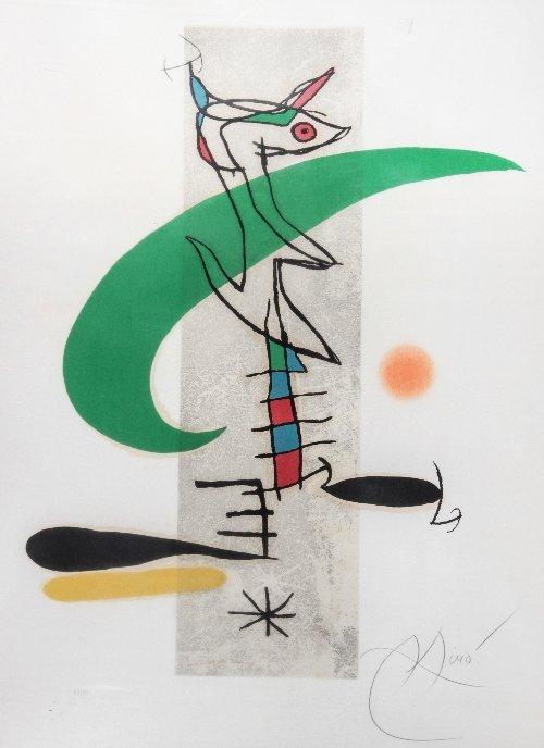 83: Joan MIRO (1893-1983) La Translunaire
