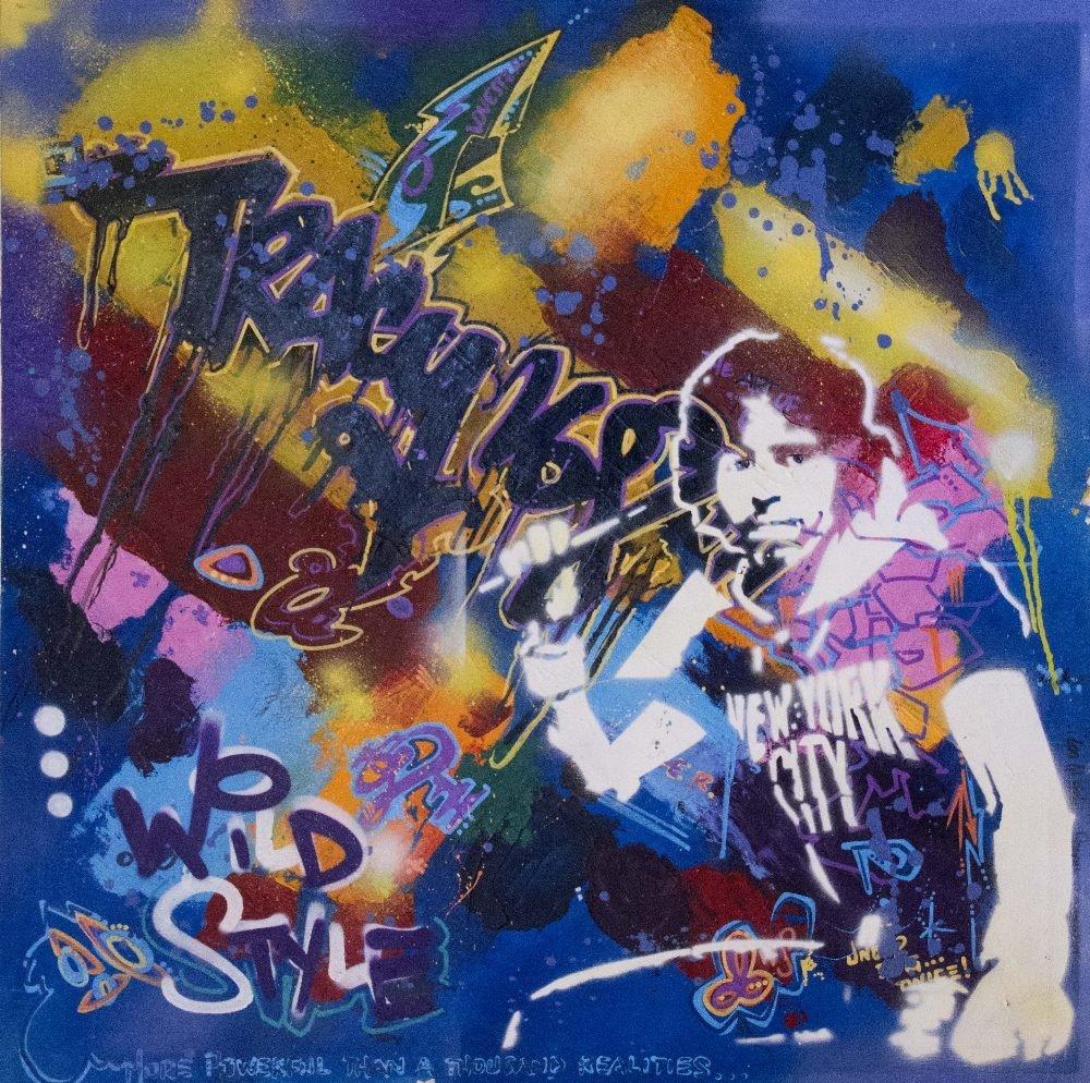 Michael TRACY (born in 1958) Self-portrait stencil, 199