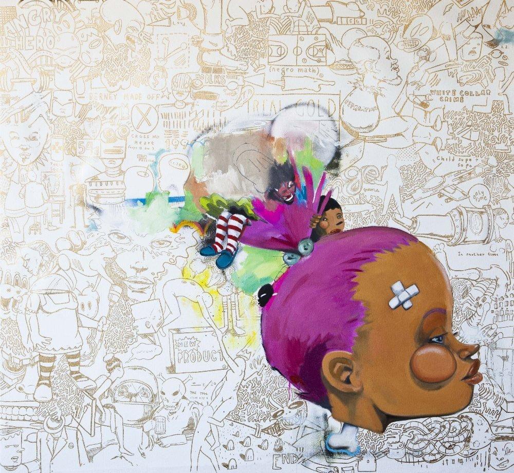 Hebru Brantley (born in 1981) A Song by Sade, 2012