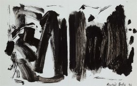 Andres GILES (born in 1980) Abstraction no. 1, 1995