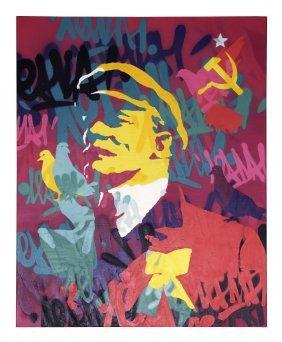 Vitaly RUSAKOV (born in 1985) I Love Lenin No. 7, 2010