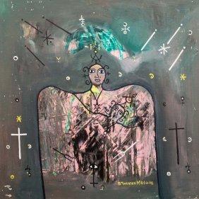 Stevenson MAGLOIRE (1963-1994) Untitled