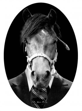 Maurice RENOMA (born in 1940) Horse 593 (from the Mytho
