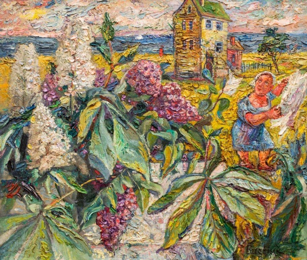 David BURLIUK (1882-1967) Untitled