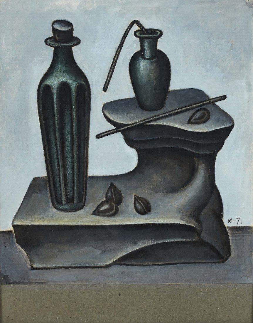 Dmitry KRASNOPEVTSEV (1925-1995) Still life, 71