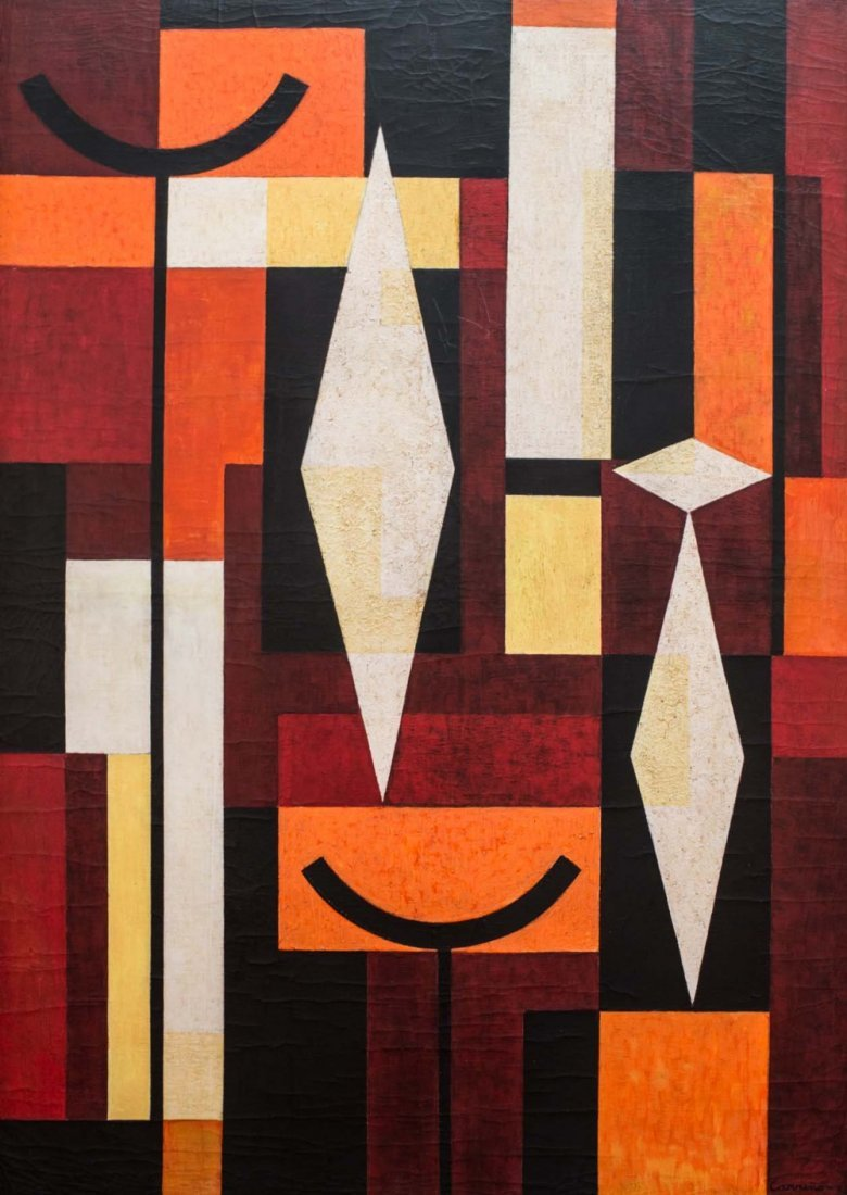 Mario CARRENO (1913-1999) Untitled, 1956