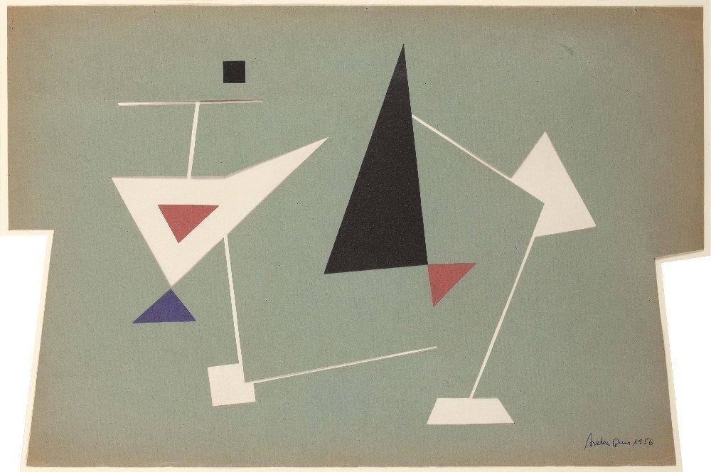 Carmelo ARDEN QUIN (1913-2010) Composition, 1956