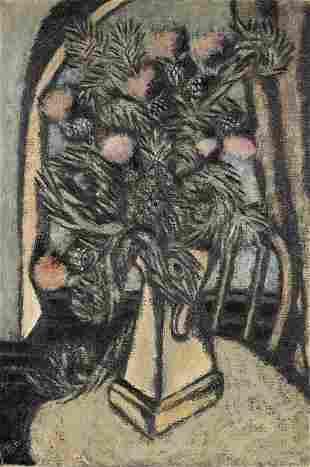 Marsden HARTLEY (1878-1943) Thistles
