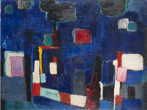 Nejad DEVRIM (1923-1995) Abstract composition, 1960