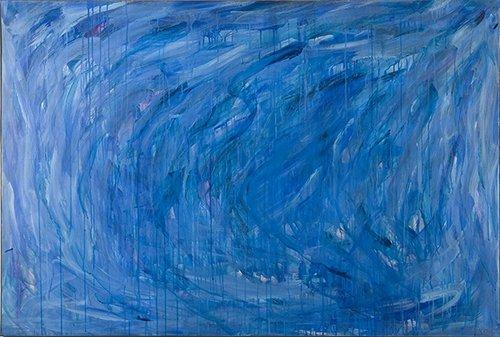 Blue composition, 1962