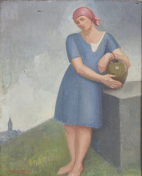 Woman with a jug, 1926
