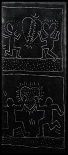 Untitled, Subway drawing, 1981