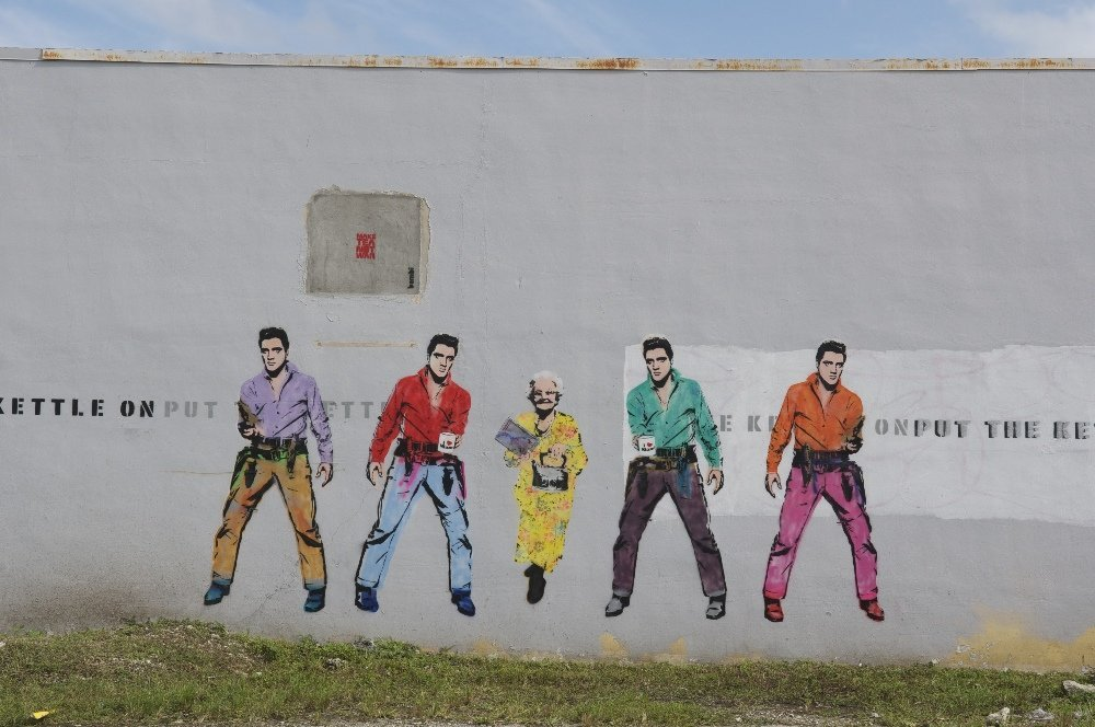 Make Tea Not War , Miami, 2013