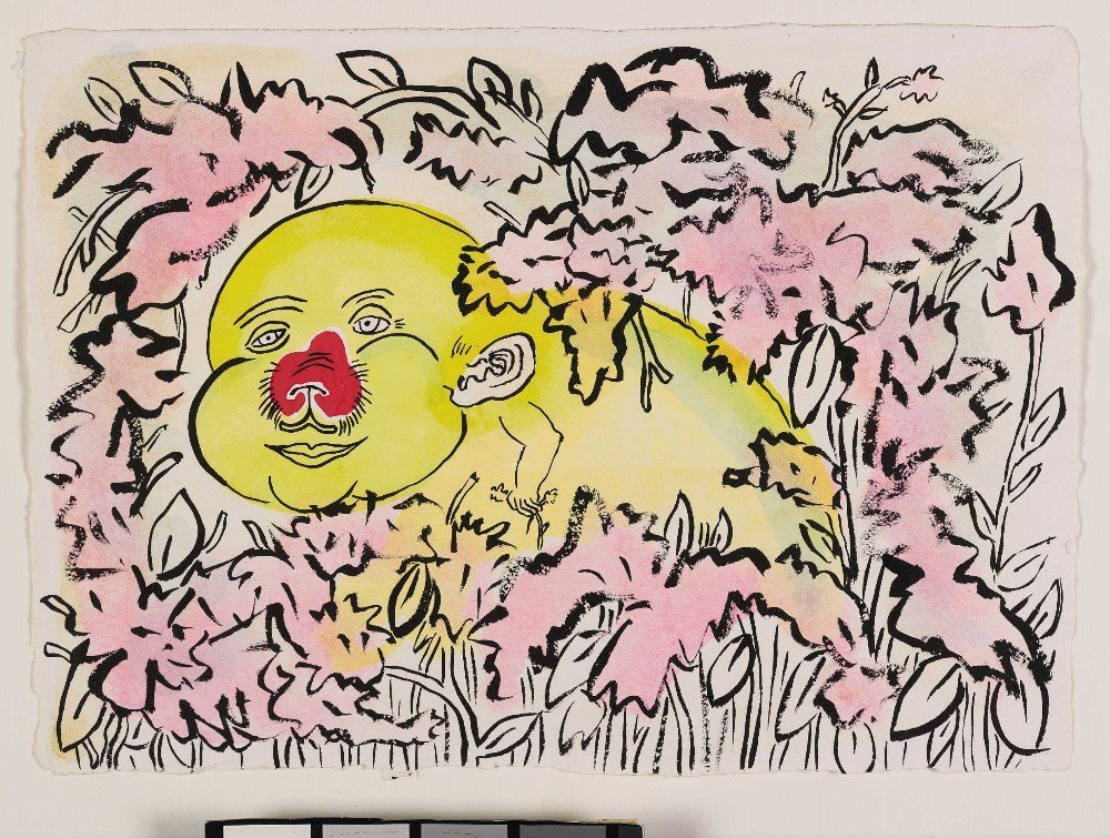 Roger in the Flowers, 1987