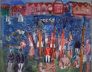La Régate à Henley, 1930-35