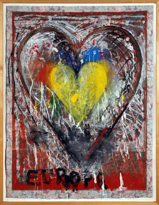 Jim DINE (born in 1935)
