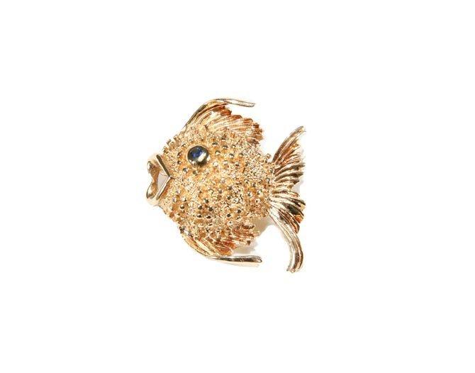 A Fish Brooch