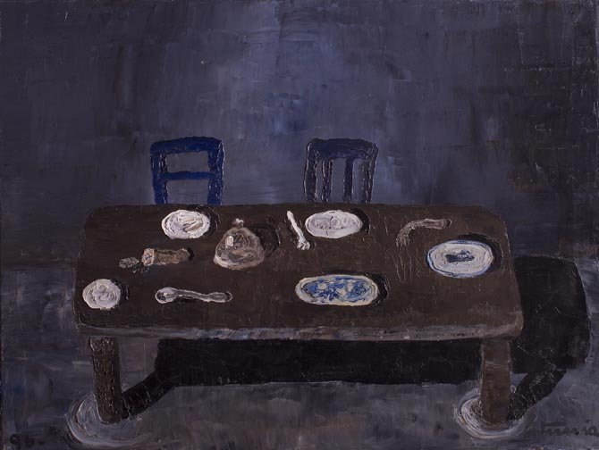 Table with two chairs , 1996