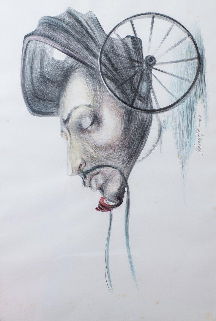 Yonel HIDALGO (Cuban, born 1970) Untitled, 1990