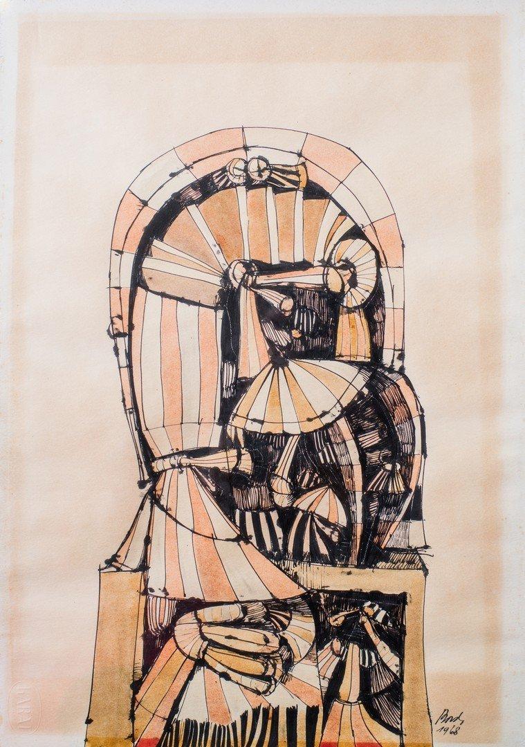 Oswaldo BORDA (born 1929) Untitled, 1968