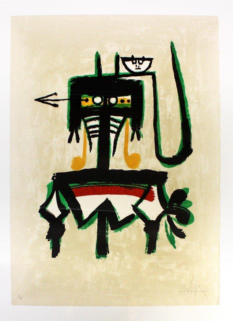 Wifredo LAM (Cuban, 1902-1982) Untitled